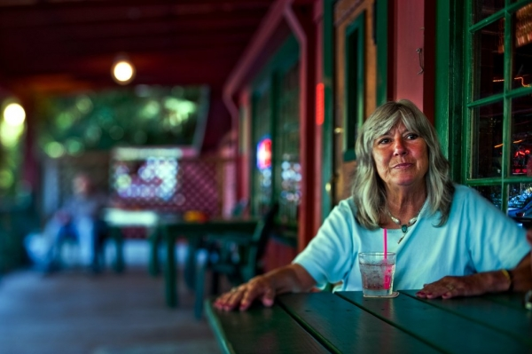 Loreen Eliason, owner of the Riverwood Inn in P-town, CA