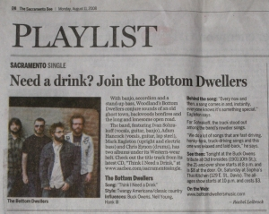 Bottom Dwellers Sacramento Single article